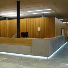 Corporate Concrete | Design Example | Reception desks | Dade Design AG  concrete works Beton