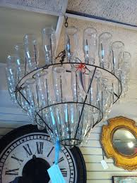 pottery barn milk bottle chandelier designs