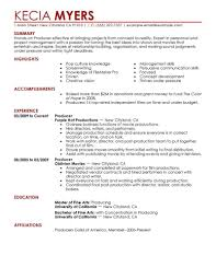 Film Crew Resume Best Business Template