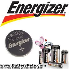Cr2032 Battery Cross Reference Chart Key Fob Batteries From Duracell And Energizer Battery Pete
