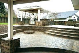raised concrete patio ideas plans porch amazing construction build raised concrete patio photo design
