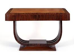 art deco furniture design. Art Deco Furniture, Carved Wood Console Table Furniture Design A