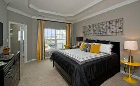 beige walls grey bedding designs