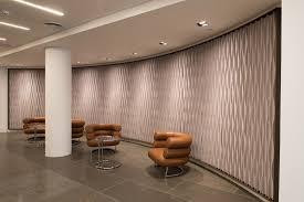 fabric decorative acoustical panel laine curved decorative acoustical panel by anne kyyrö quinn