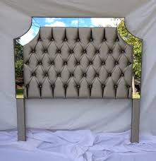 now full size fabric headboard linen california king diy grey covered