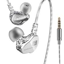 Brand New <b>QKZ CK9 Earphone</b> Dual Moving Coil In ear Headset ...