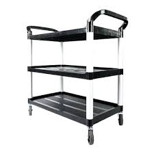 rolling office cart. Rolling Office Cart Portable Three Layer Plastic Storage Home Organizer Black Us