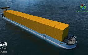 Der verkehr auf der engen ägyptischen wasserstraße kam am dienstag zum erliegen. Niederlander Bauen Containerschiff Mit Elektromotor
