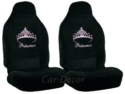 pink seat covers for cars crystal pink princess crown car seat cover girly auto accessory