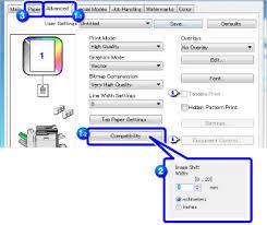 type of tab printing text on tabs of tab paper mx 4140n mx 4141n mx 5140n mx