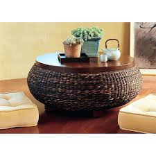 seagrass coffee table catchy round coffee table full size of tables chairs round coffee table rope