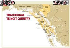 Southeast Alaska Chart Traditional Tlingit Map And Tribal List