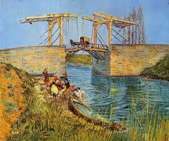 i have little doubt now that the inspiration and meaning behind van gogh s paintings of the langlois bridge was his use of a perspective machine to create