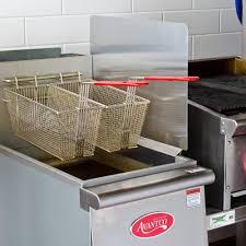 Kitchen Splash Guard Stainless Steel Universal Splash Guard For Deep Fryers