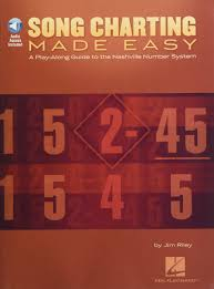 Nashville Number Chart Template Song Charting Made Easy A Play Along Guide To The Nashville