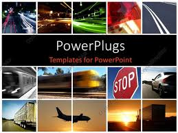 photo collage template powerpoint powerpoint template a collage depicting different modes of