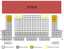 Lookingglass Theatre Seating Chart Theatre In Chicago