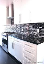 white and black kitchen backsplashes. Brilliant Kitchen Black And White Kitchen Backsplash Ideas  Download To White And Black Kitchen Backsplashes I