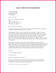 Covering Letter Format For Job Application Sample How To Format A Cover Letter Sop Examples