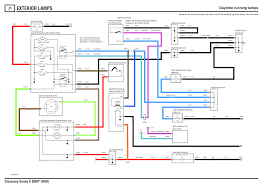 discoverthat daytime running lamps as a bit of fun and to document my car properly i have produced the drl circuit diagram in the same style as the rest of the land rover rave circuits