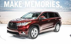 By the Numbers: 2014 Toyota Highlander Exterior Specs Against ...