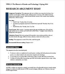argumentative essays samples examples format  sample research argumentative essay