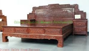 Superb Chinese Classical Mahogany Furniture Rosewood Furniture Bedroom Furniture  Bed Wood Bed Chinese Style Tradition Luxurious