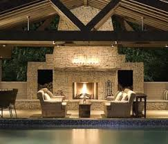 patio designs with fireplace. FIRE PITS And OUTDOOR FIREPLACES: Patio Designs With Fireplace H