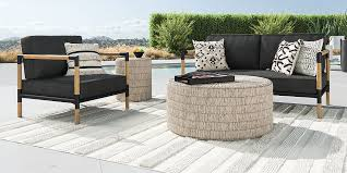 barra teak metal lounge collection