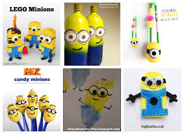 25 minion crafts and recipes for kids i heart arts n