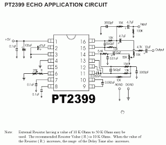 pt2399 echo reverb effects schematic circuit another echo application schematic circuit