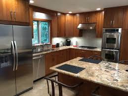 color countertops go with dark cabinets