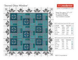 Free Stained Glass Window Cross Stitch Pattern | Tiny Modernist ... & ... download the PDF pattern, click on this link. Adamdwight.com