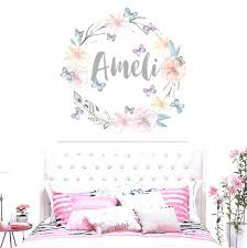 wall decals for nursery girl wall decals for nursery girl luxury personalized name wall decal rustic