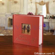 A 40th Ruby Wedding Anniversary Gift Photo Album Gifts For Couples