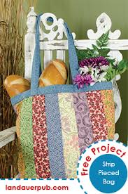 Free Quilting Projects & From the book Thimbleberries® Small Wonders by Lynette Jensen, get this  easy quilted bag featuring scrappy strips. This small quilt project is just  the ... Adamdwight.com