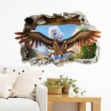 hawk wall sticker giant transfer eagle