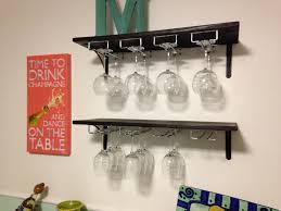 wine glass rack pottery barn. Furniture: Hanging Wine Glass Rack New Large Wall Mounted Holder Masata Design Easy Pottery Barn