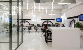 Image Interior Tour Of Gazetarus New Moscow Office Nefa Architects Officelovin Nefa Architects Officelovin