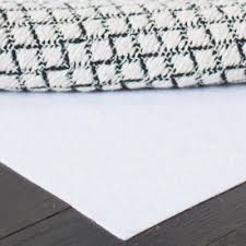 carpet to carpet white 8 ft x 10 ft rug pad
