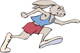 Free Cartoon Rabbit Running Download Free Clip Art Free Clip Art