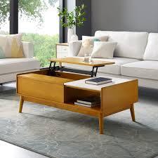 landon lift top storage coffee table