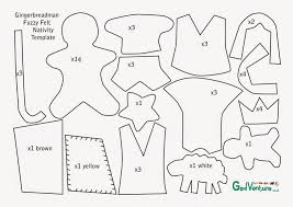 Gingerbread Man Felt Board Story Template Flame Creative Childrens Ministry Guest Post Gingerbreadman