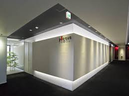 office entrance design. Plenus Company Limited; Limited/【Entrance Area (Entrance - Executive Area)】Visitors Are Office Entrance Design N