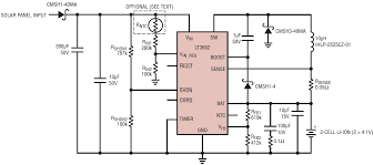 Solar Panel Circuit Design Designing A Solar Cell Battery Charger Analog Devices