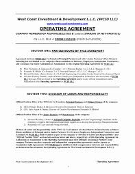Sales Agent Contract Llc Operating Agreement For Two Partners Template North Carolina 16