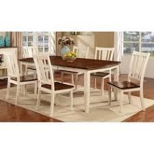 white cherry 5 piece dining set dover