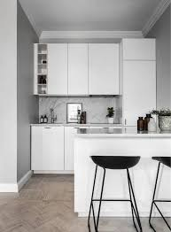 kitchensmall white modern kitchen. all white kitchen with wood floor small grey scandinavian apartment gravity home kitchensmall modern s