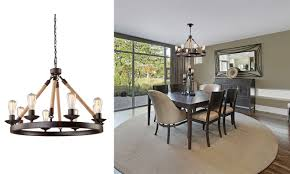 modern rustic chandelier popular as rustic dining table on rustic ceiling fans