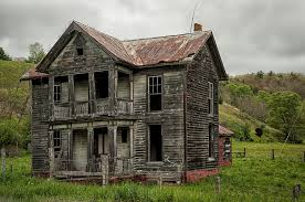 Abandoned Farm House In West Virginia graph by Mark Serfass